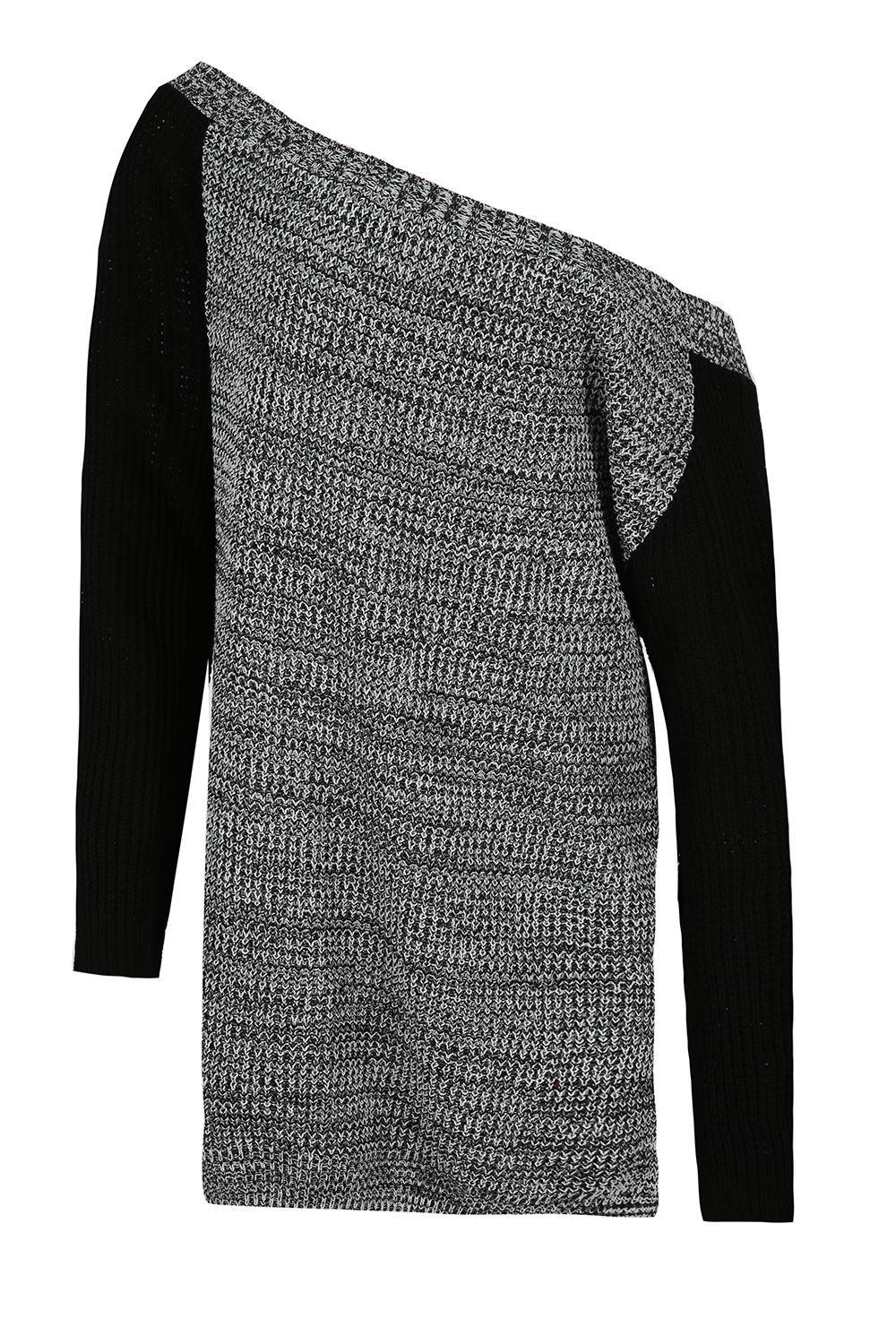 Womens-Oversized-Jumper-Ladies-Dress-Long-Sleeve-Chunky-Knitted-Long-Sweater-Top thumbnail 34