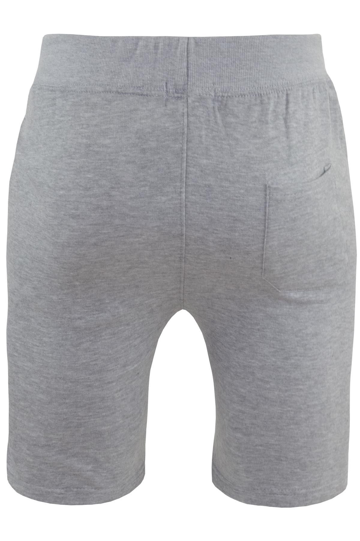 Mens-Contrast-Panel-Running-Summer-Side-Slit-Knee-Length-Fleece-Bottoms-Shorts thumbnail 62