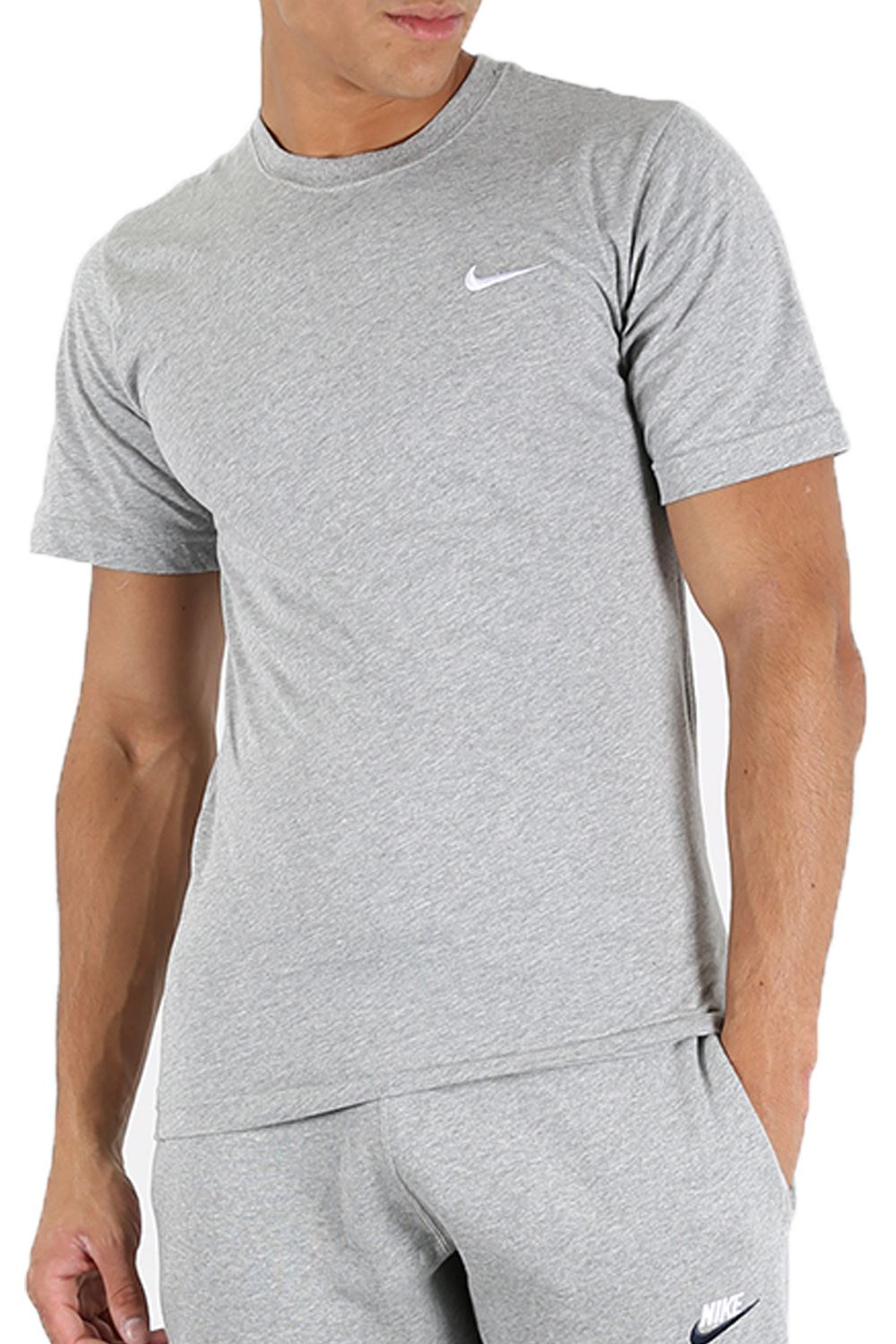 nike mens cap sleeve just do it swoosh gym fitness crew. Black Bedroom Furniture Sets. Home Design Ideas