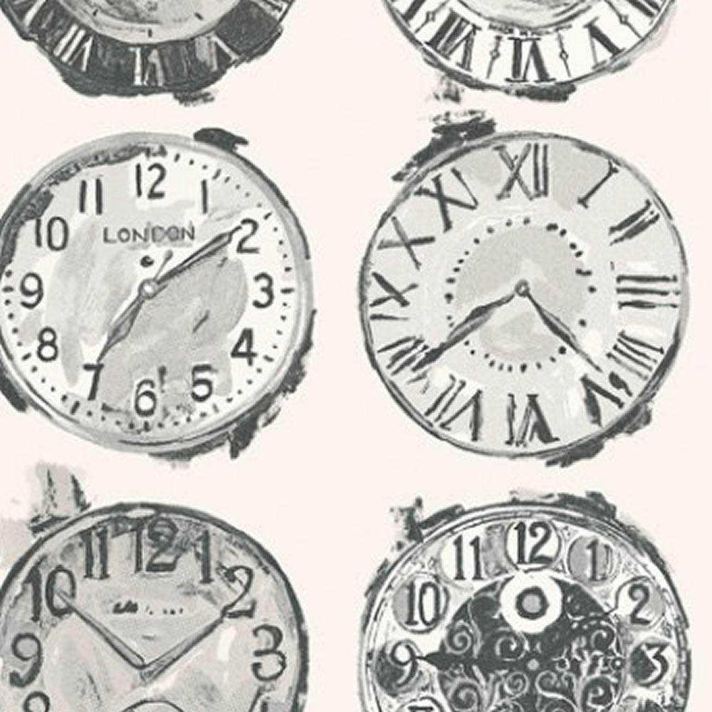 Detalles De Onyx 1965905 Hora Reloj Icono Prestigioso Textiles Wallpaper Ver Título Original