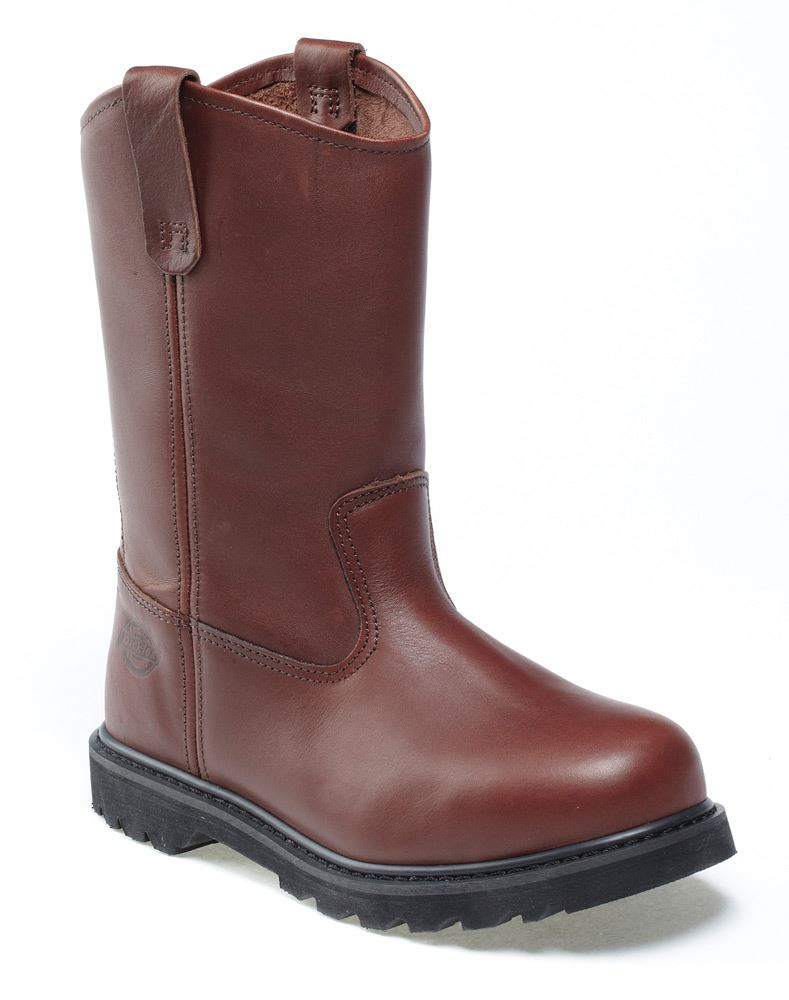 Dickies FD25000 Industrial Rigger Boots Brown