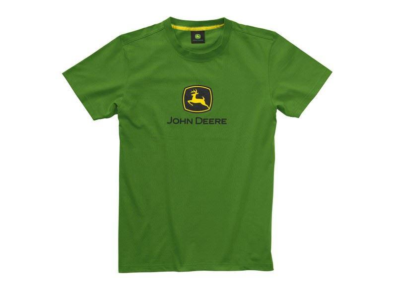 0a7867f5989 Image is loading John-Deere-T-Shirt-Green-034-John-Deere-