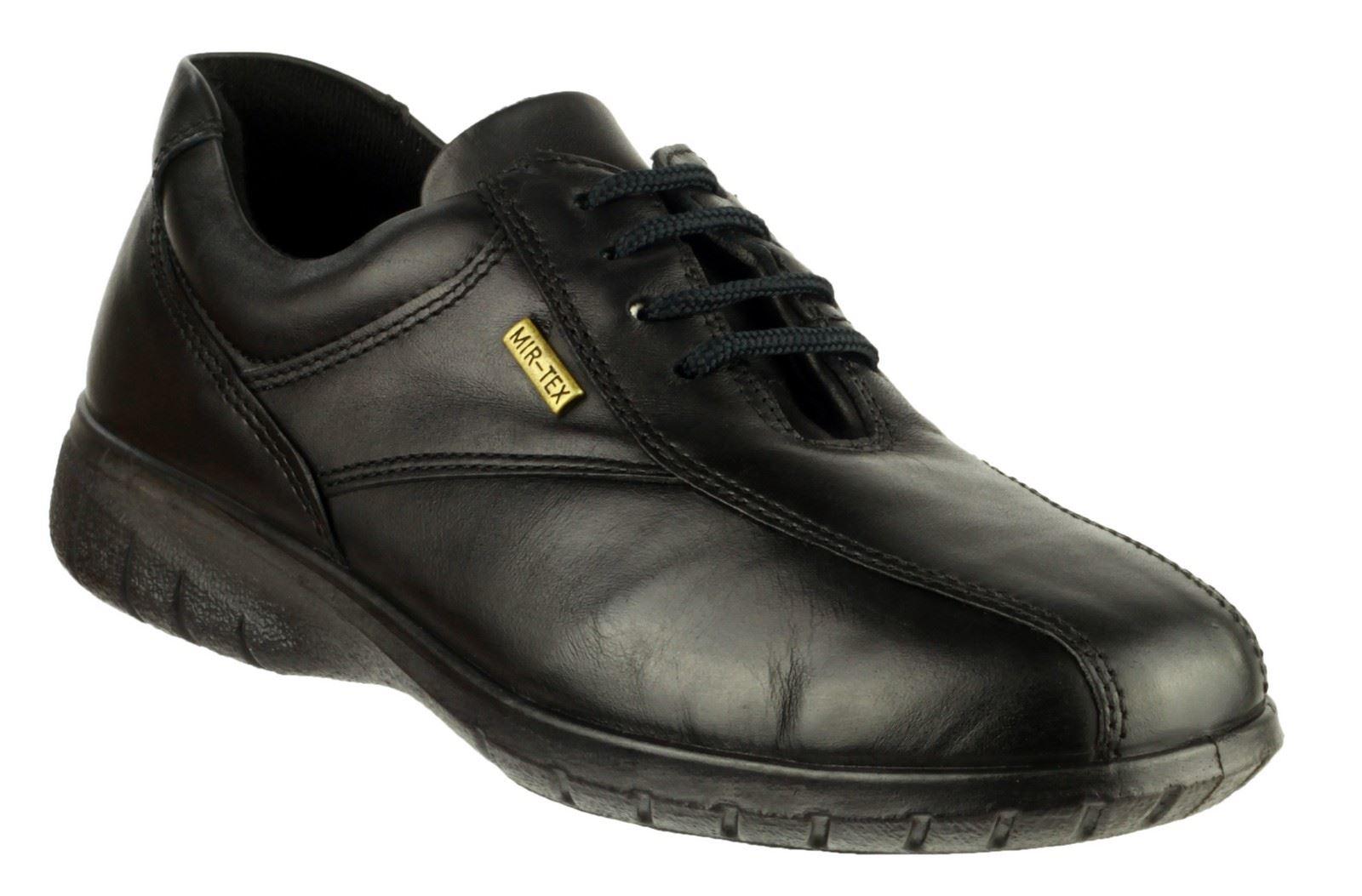 Cotswold Mujer Salford Zapatos De Piel Con Cordones