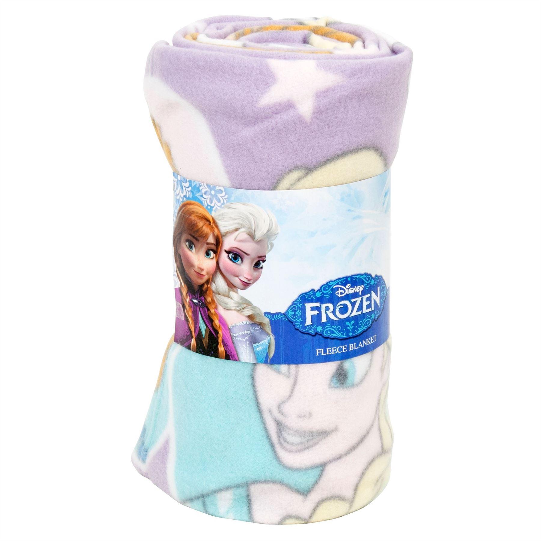 Kids-Boys-Girls-Character-Print-Brushed-Fleece-Blanket-Movie-Cartoon-Cosy-Warm thumbnail 9