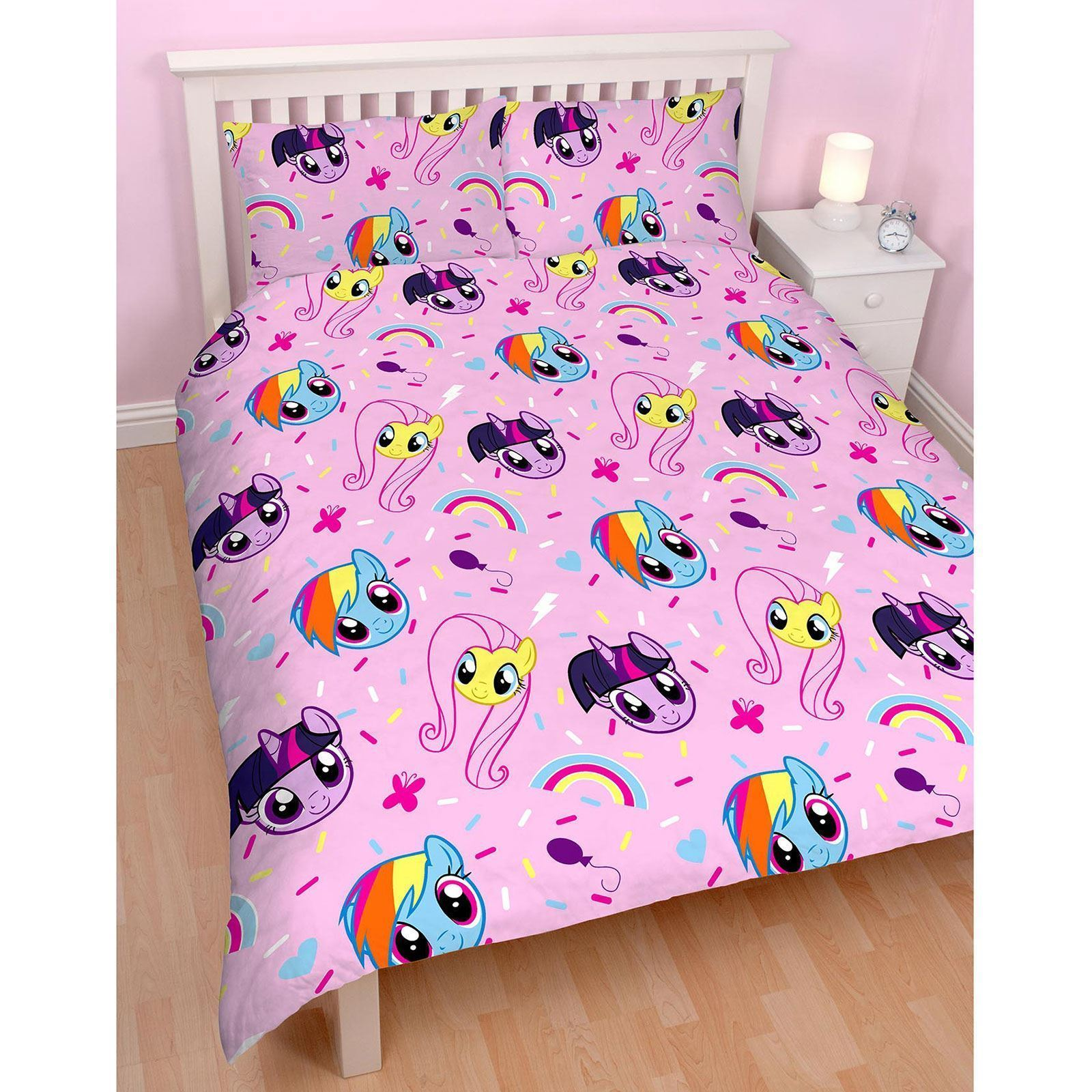 reversible my little pony equestria single duvet cover bed