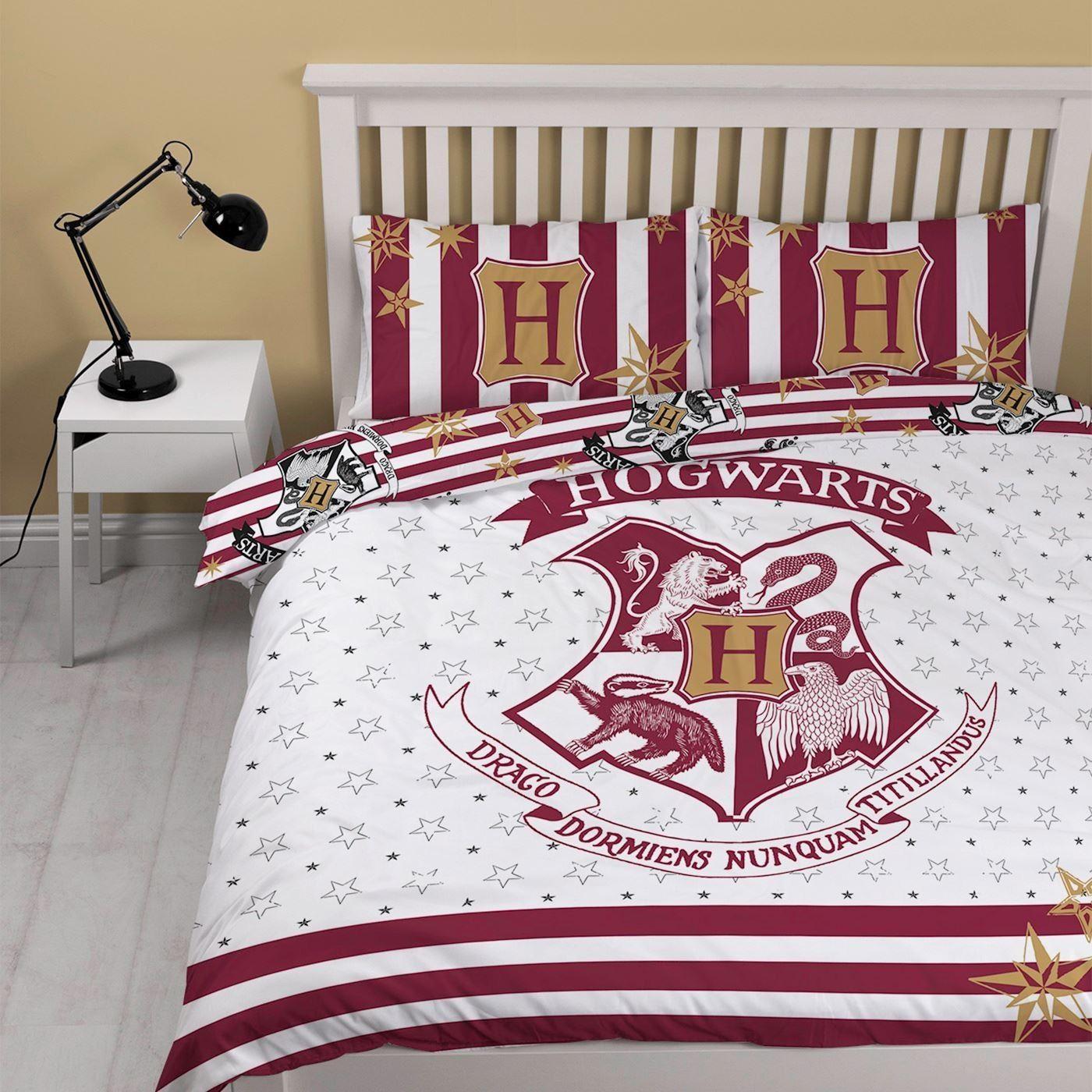 harry potter duvet quilt cover bedding set single double blanket kids boys girls ebay. Black Bedroom Furniture Sets. Home Design Ideas