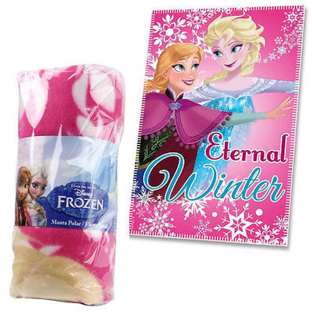 Kids-Boys-Girls-Character-Print-Brushed-Fleece-Blanket-Movie-Cartoon-Cosy-Warm thumbnail 12