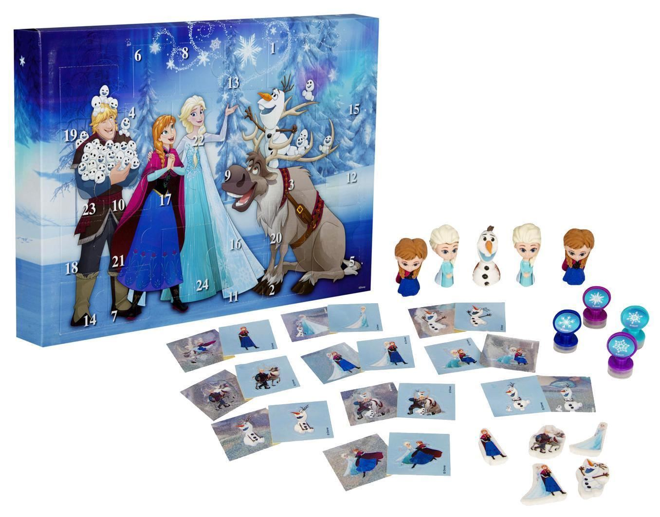 disney princess frozen advent calendar surprise kids. Black Bedroom Furniture Sets. Home Design Ideas