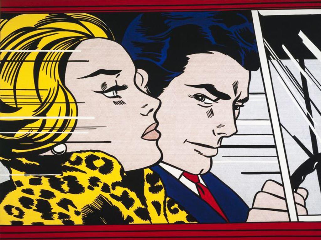Poster Affiche Grrrr Par Roy Lichtenstein Pop Art Comics
