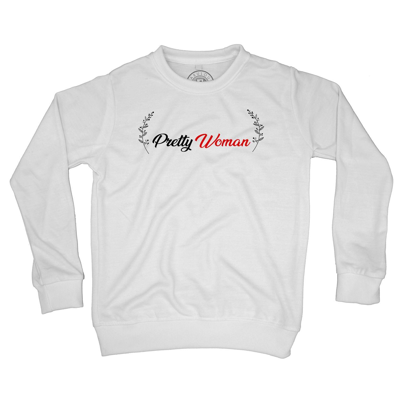 Sweat Shirt Enfant Pretty Woman Couronne