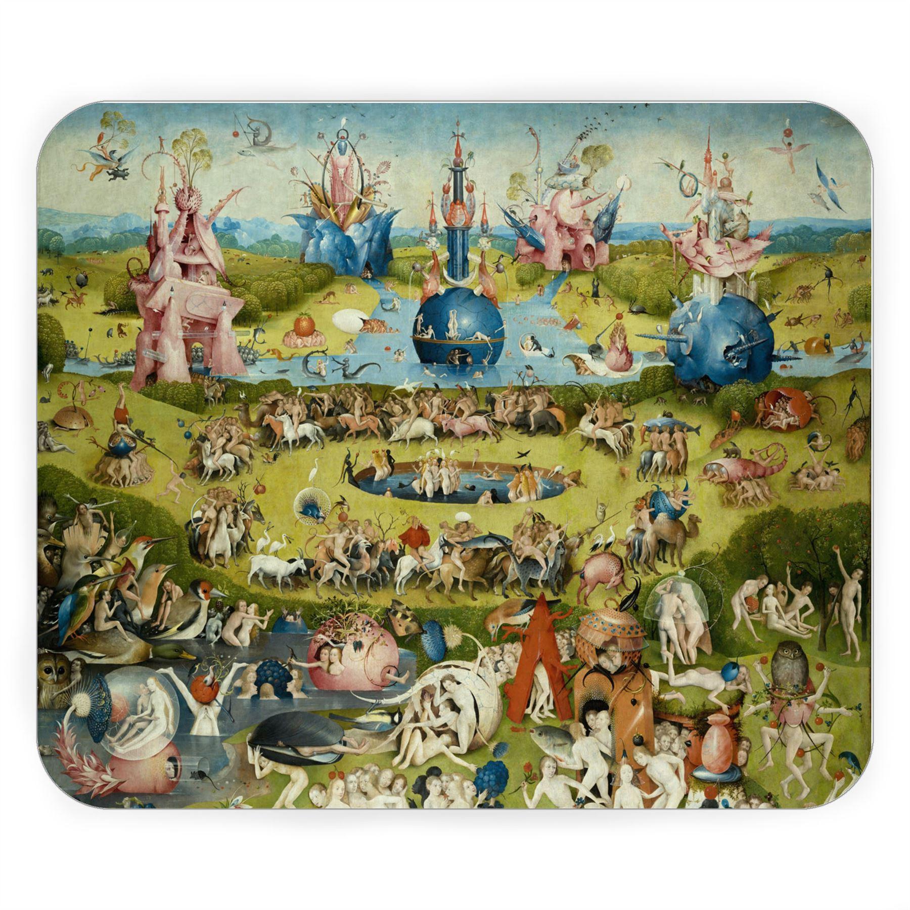 Tapis de Souris Jerome Bosch Le Jardin des Delices Peinture Art Sacre | eBay