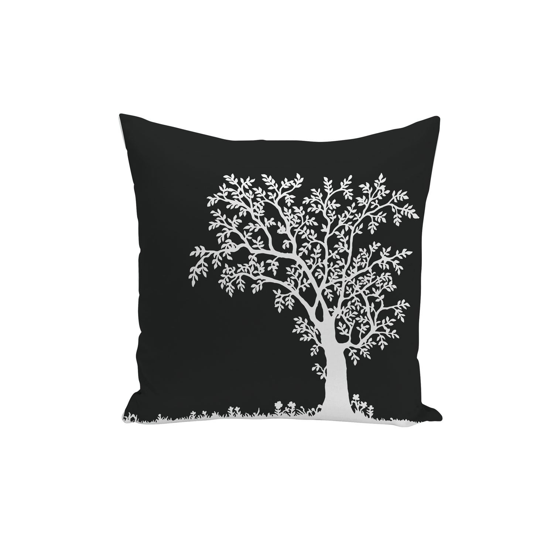 Détails Sur Housse De Coussin Dessin Cerisier Sakura Noir Et Blanc 40x40cm
