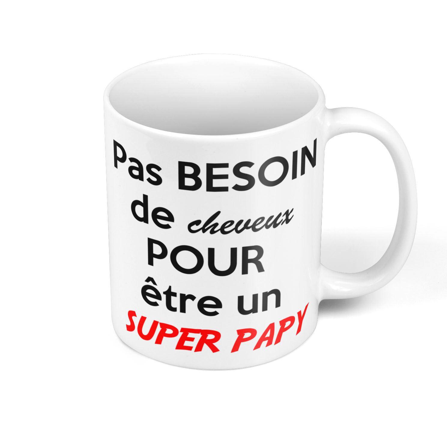 Mug Céramique Tasse Photo de Célèbrité Emmanuel Macron Kawaii Humour Politicien