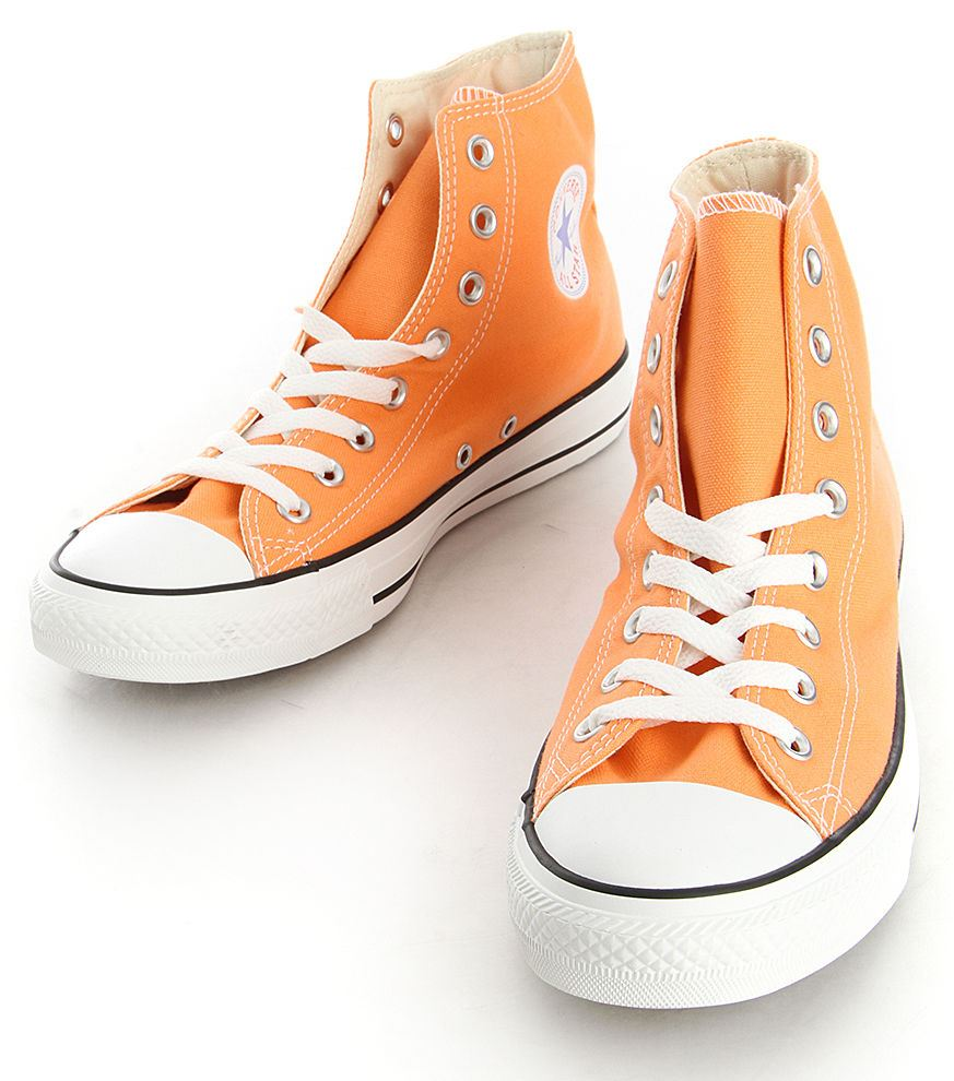 all star converse arancioni