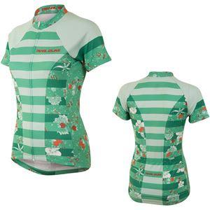 Pearl Izumi Women's, Sel Escape Ltd SS Fz Jersey, Muse Green Spruce, Size L