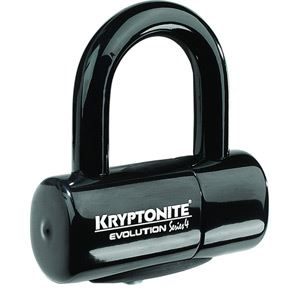 Kryptonite Evolution Series 4 disc lock - black black