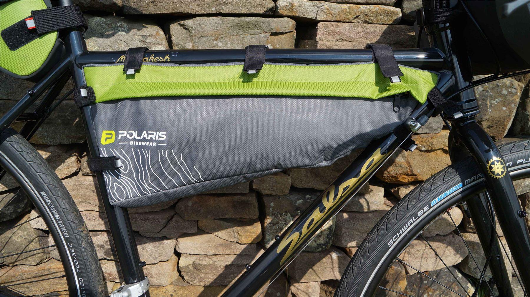 Polaris VENTURA SEATPACK MAX Green 9 ltr Bikepacking pack