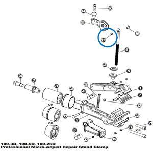 Park Tool: Handle Screw Cap - 100-3D/5D/25D, 100-7X