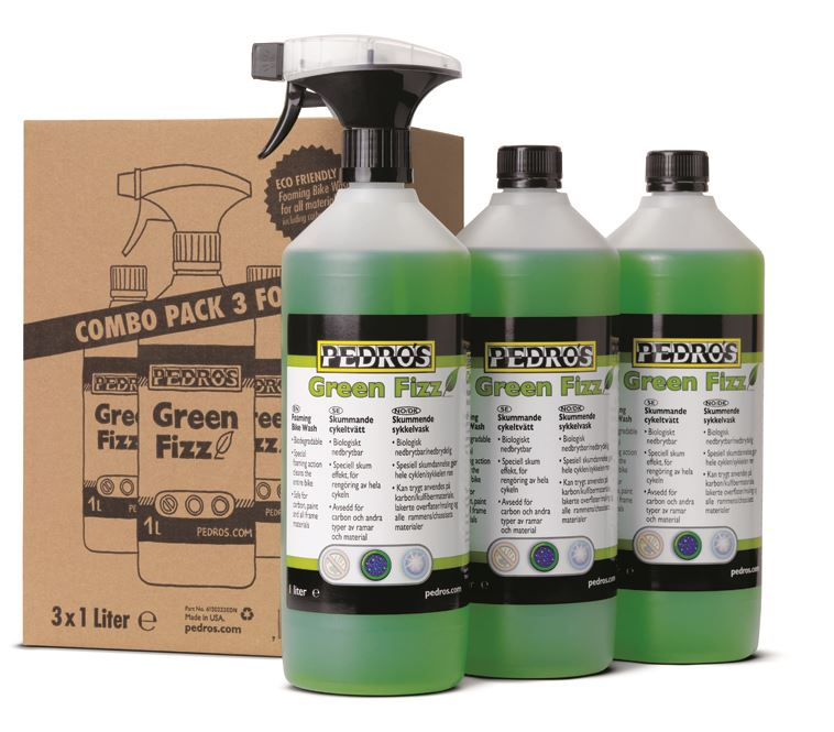 Pedros: Green FIZZ 1l Bundle Pack - 1L