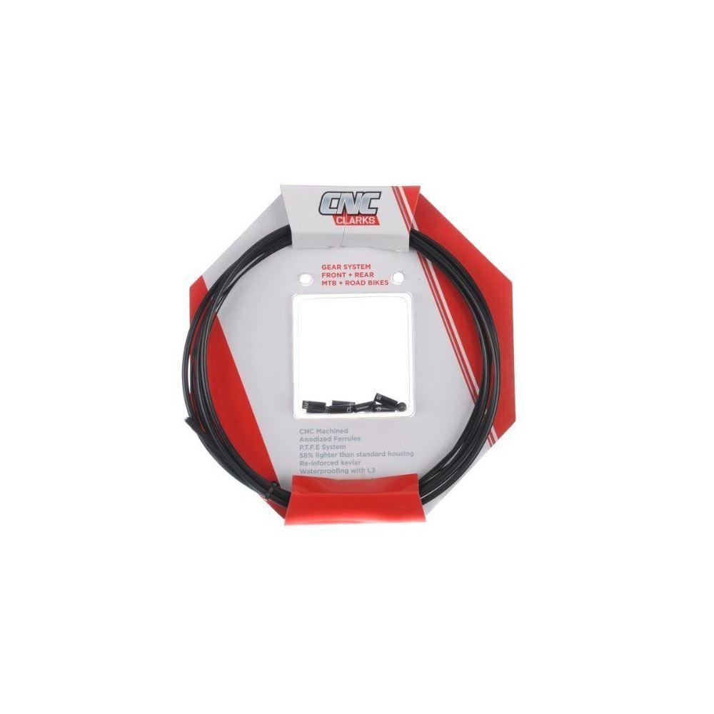 Clarks Zero-G Road Gear Kit W//2200mm Alloy Housing 2100mm Front /& 2100mm Black