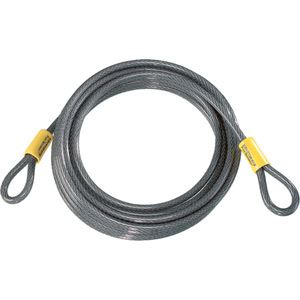 Kryptonite Kryptoflex cable lock 30 feet (9.3 metres) silver
