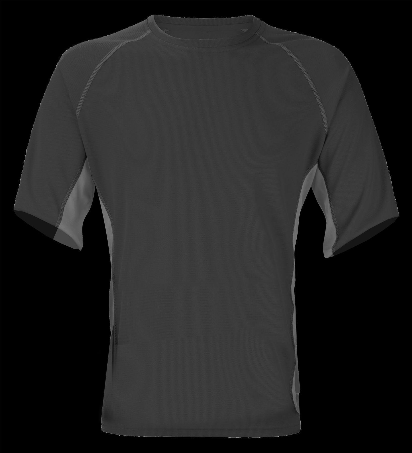 Clothes, Shoes & Accessories Trekmates Vapor Active Crew Neck Long  Sleeve Mens Black/Grey  Trekmates®