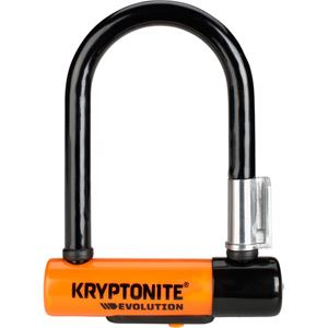 Kryptonite Evolution Mini-5 - with FlexFrame U bracket blk/oran