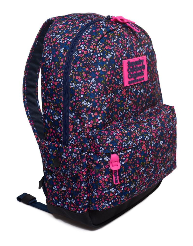 bfc94e1117 Superdry Print Edition Montana Rucksack in American Ditsy Blue