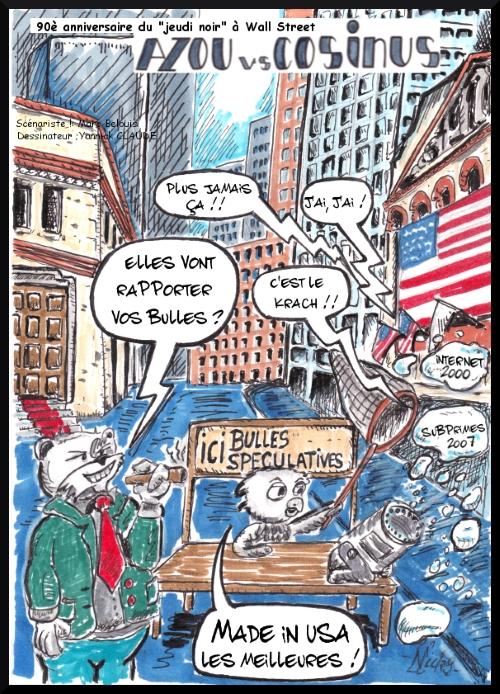 Azou vs Cosinus (31) : Le 90è anniverssaire du jeudi noir à Wall Street