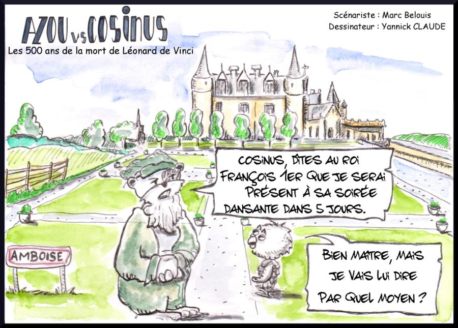 Azou vs Cosinus (27) : Les 500 ans de la mort de Léonard de Vinci