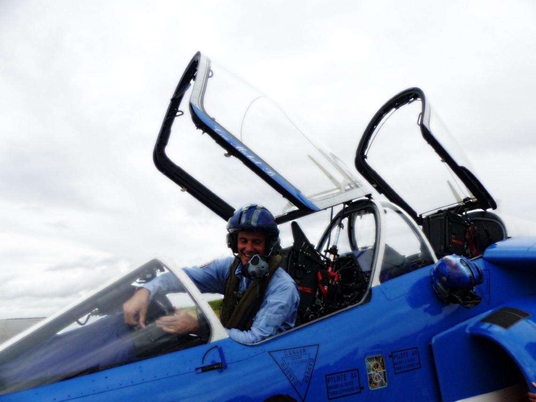 Interview du Lieutenant-colonel Gauthier Dewas: Le coeur bleu, blanc, rouge