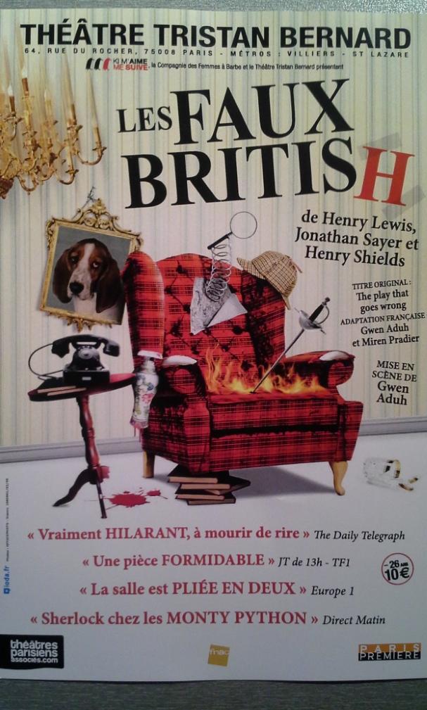 Les Faux British - Théâtre Tristan Bernard -