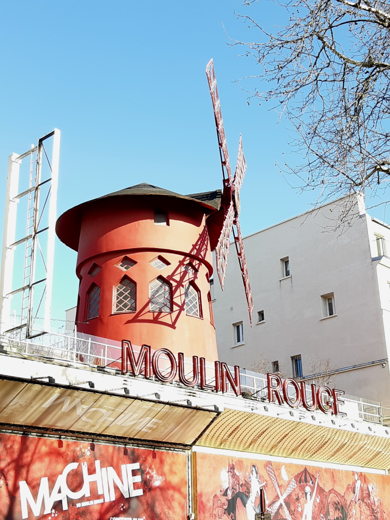Le Moulin Rouge / Humanvibes