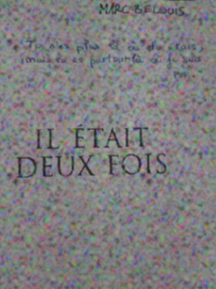 Pièce à conviction num.16 : la seconde page où figurent les parties manuscrites