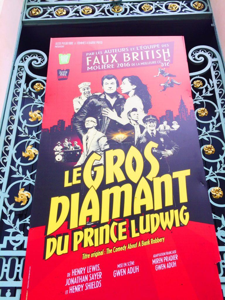Le Gros Diamant du Prince Ludwig : Quelle rigolade !