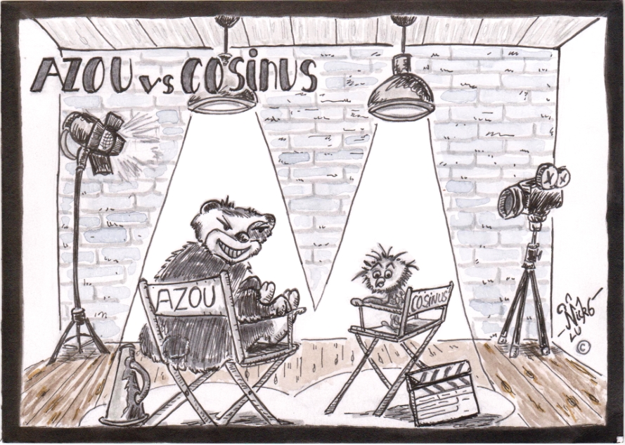 Azou vs Cosinus (24) : Bonne année deux mille dix n'oeuf !