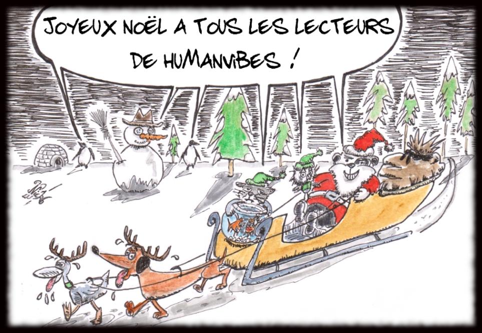 Azou vs Cosinus fêtent Noël !