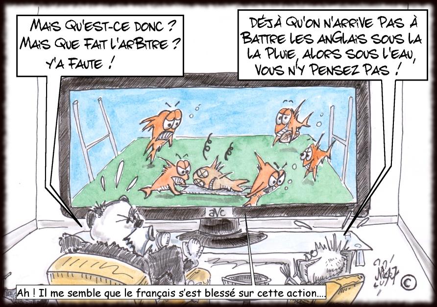 Azou vs Cosinus (6) : L'équipe de France d'aquarugby