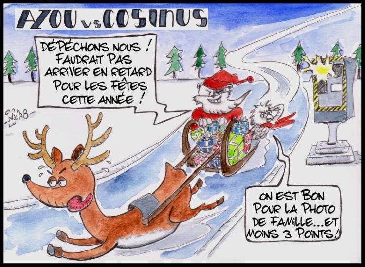 Azou vs Cosinus (23) : Noël