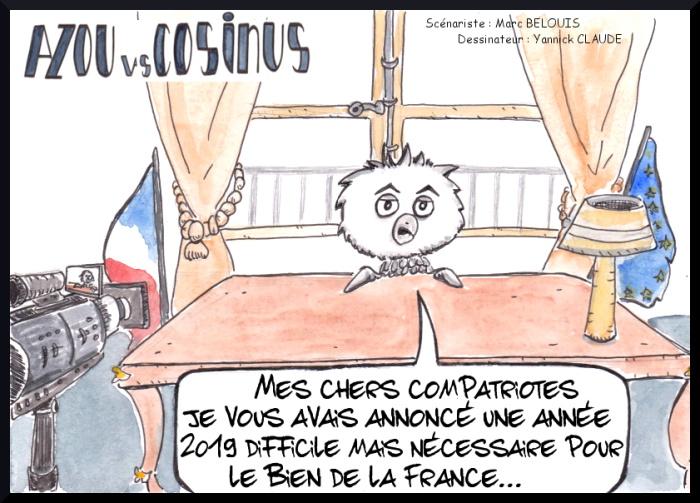 Les vœux 2020 / Azou vs Cosinus