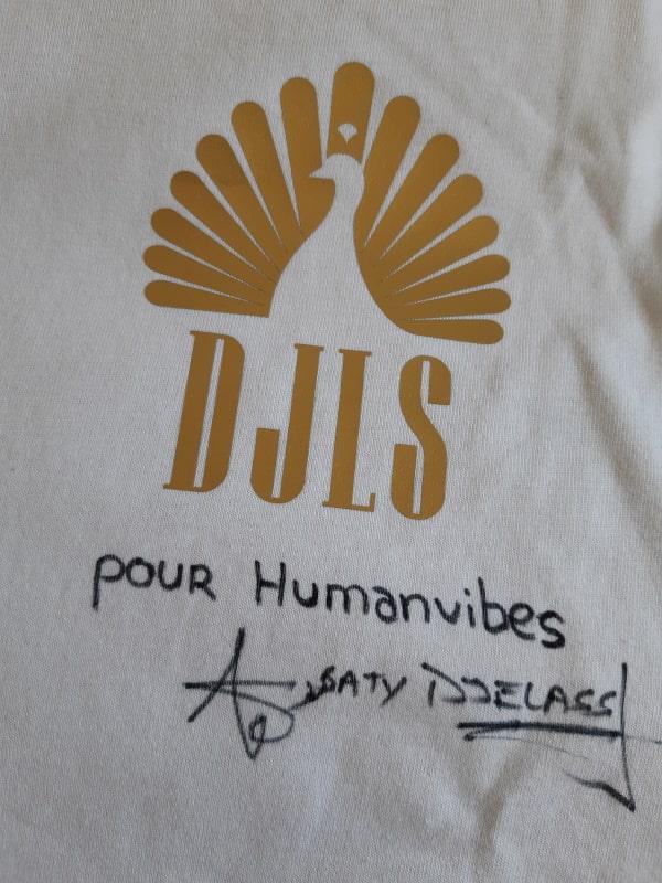Dédicace de Saty Djelass pour Humanvibes