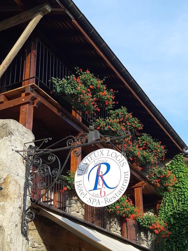 Hôtel-Spa-Restaurant Le Vieux Logis à Yvoire