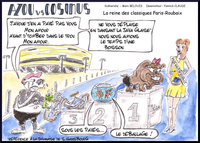 Azou vs Cosinus (26) : La reine des classiques Paris-Roubaix