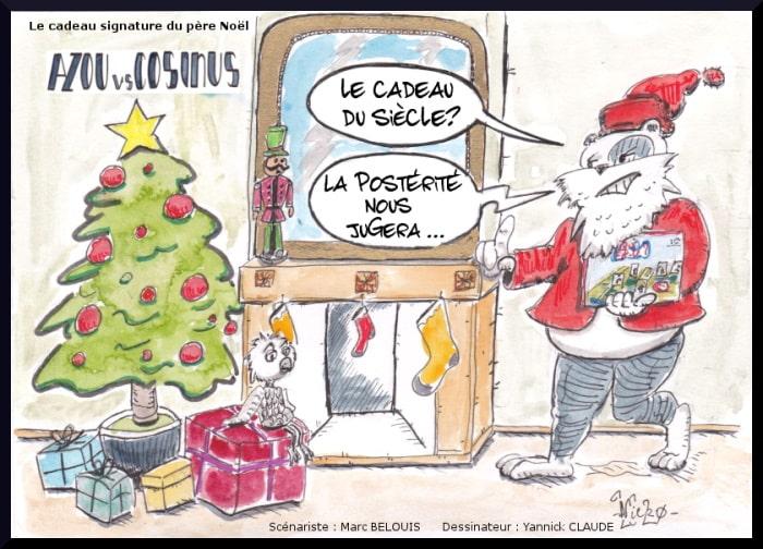 Azou vs Cosinus (42) : Le cadeau signature du père Noël