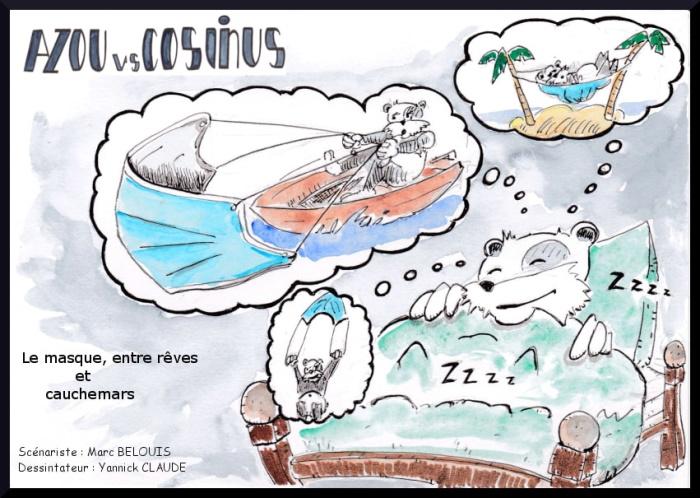 Azou vs Cosinus 41 : Le masque, entre rêves et cauchemars