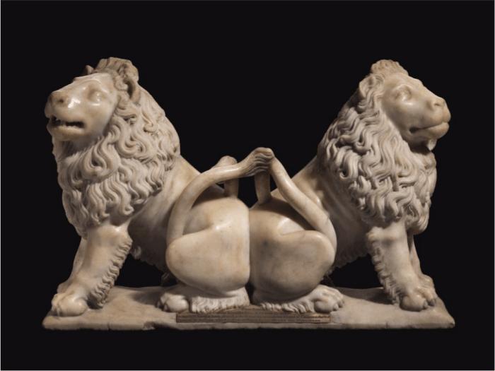 Lions de Charles V vendus aux enchères © Google