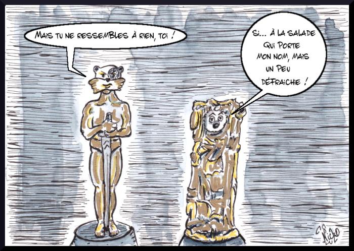 Quand Oscar rencontre César / Azou vs Cosinus
