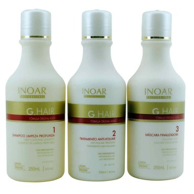 GHAIR INOAR PROFESSIONAL REDUTOR DE VOLUME 3 x 250 ml