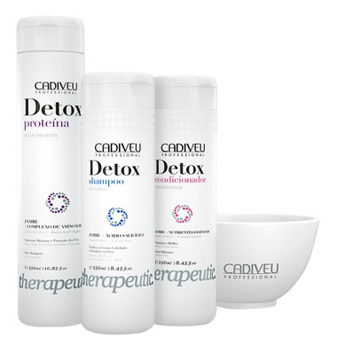 DETOX CADIVEU PROFESSIONAL PACK HOME CARE 820 ML