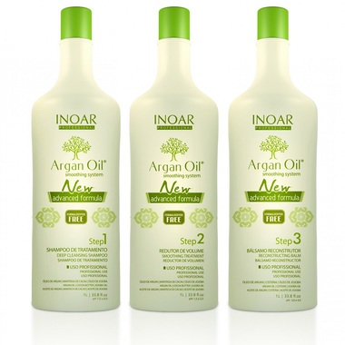 ARGAN OIL SMOOTHING SYSTEM INOAR PROFESSIONAL 3 L.